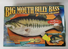 Vintage Gemmy Big Mouth Billy Bass Singing Fish Works Original Box No Adapter