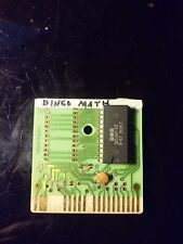Speed Bingo / Speed Math Cartridge Commodore 64 C64 C128 Tested Working no case