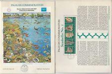 Palau Set Panel Collection, 7 Pages, Ship, Bird, Fish, Shell, Animals (B)