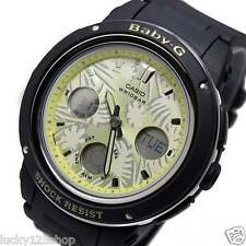 BGA-150F-1A Black Casio Baby-G Ladies Watches Analog Digital Neon Packy New