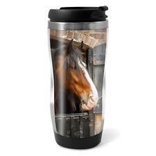 Shire Horse Travel Mug Flask - 330ml Coffee Tea Kids Car Gift #12685