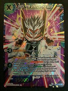 Dragon Ball Super - Baby, the Unknown Parasite - Super Rare - BT11-033 - Mint