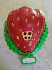 Vintage Strawberry Shortcake American Greetings House Playset Carry Case Kenner