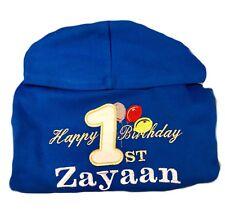 Personalised 1st,2,3,4,5th Birthday PartyOutfit Hoodie,Jumper,Top Baby/Kids Gift