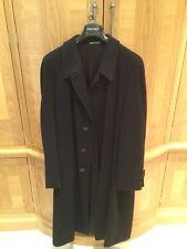 Armani Collezioni Navy Men's Overcoat - UK44 / EU54