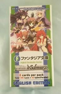WeiB (Weiss) Schwarz Fujimi Fantasia Bunko Sealed English Booster Box