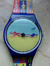 "orologio swatch STANDARD GENT modello""LUCHY SHADOW""GS105 anno 1996 SEMINUOVO"