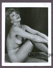 Dreamy Beauty Older Sexy Woman Hot Body Mature 1950 Original Nude Photo B3631