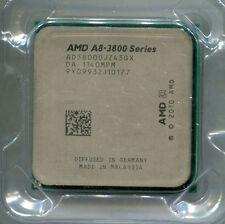 AMD Fusion A8-3800 socket FM1 quad core CPU AD3800OJZ43GX 2.4 GHz HD 6550D GPU
