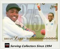 1996/97 Futera Cricket Brian Lara 375 Test Runs Record Limited Edition Card-Rare
