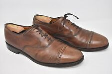 Allen Edmonds 'Byron' Brown Leather Cap Toe Oxford Dress Shoes Sz 11C Narrow