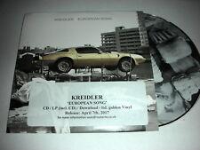 Kreidler - European Song - 5 Track