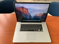 macbook pro 15 i7 anno 8gb ram 240 ssd