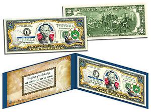 PUERTO RICO Statehood $2 Two-Dollar U.S. Bill - Genuine Legal Tender