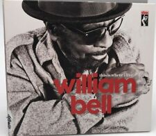 William Bell - This Is Where I Live (CD) Like New