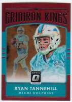 2016 Donruss Optic Gridiron Kings Red Refractor /99 #33 Ryan Tannehill Dolphins