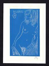 16)Nr.041- EXLIBRIS- Erotik / erotic - Herbert Ott