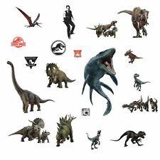 JURASSIC WORLD BiG Wall Decals BLUE T-Rex Room Decor Sticker Dinosaurs MOVIE NEW