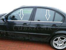 Molduras de ventana para BMW Serie 3 1998-2005 listones cromados acero inox E46