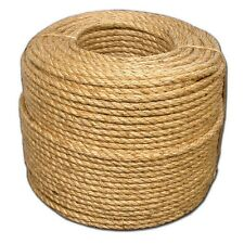 T.W . Evans Cordage 24-003 3/8-Inch by 600-Feet Grade Number-1 Manila Rope New