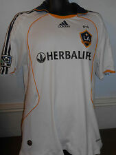 LA Galaxy Home Shirt (2009/ 2010) size large men's (player shirt) #300