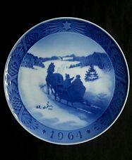 Royal Copenhagen 1964 Christmas plate B&G Denmark