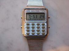 RARE vintage 1970s QUALITRON lcd Alarm CALCULATOR digital WATCH