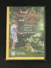 Your New Dog and You DVD A Beginner's Guide To Dog Care and Training NEW SEALED
