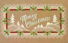 Chainstitching Embroidery Kit MERRY CHRISTMAS Winter Ann Benson Charmin Janlynn