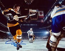 DEREK SANDERSON AUTOGRAPHED BOSTON BRUINS 8x10 PHOTO