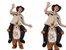 Carry Me Kangaroo Ride On Piggy Back Mascot New Fancy Dress Costume Australian