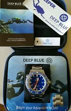 Deep Blue Master 1000 2.5- Men's Dive Watch 1000ft water resistance Automatic