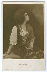 Movie Actress Pola Negri Vintage Ross Photo Postcard