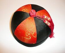 Chinese Traditional Noble Hat Oriental Melon Peel Cap Mens & Boys Asian Skullcap
