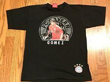 Mario Gomez #33 FC Bayern Munchen Authentic Graphic Soccer Football Tshirt Small