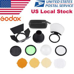 Godox AK-R1 Pocket Flash Light Accessories Kit for Godox H200R Round Flash Head