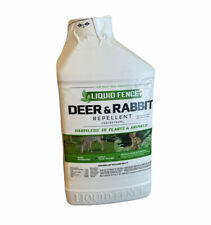 New listing Liquid Fence Deer & Rabbit Repellent Concentrate, 32-Ounce