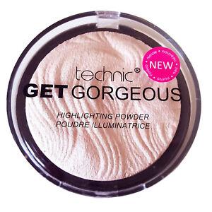 Technic Get Gorgeous Highlighting Powder Face Eye Highlighter Contour Contouring