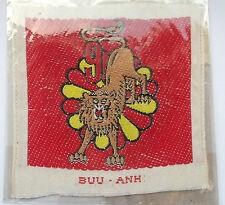 vietnam american war vintage  woven  9th batl  ARVN parachute forces patch