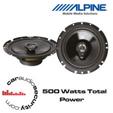 "VW Golf Mk4 Bora Polo Alpine SXV-1735E - 6.5"" 16.5cm 3-Way Car Coaxial Speakers"