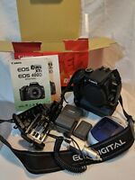 Canon EOS Digital Rebel XTi / EOS 400D 10.1MP Digital SLR Camera Kit (no lenses)