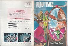 Ford Times July 1981 T-Bird   Edward Tow's Collection Model T A News 81