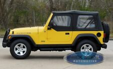 Black Soft Top For 97-06 Jeep Wrangler Smittybilt 9970235
