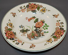 Wedgwood of Etruia and Barlaston Eastern Flowers Rimmed Soup Bowl #TKD 426