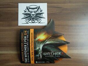 NEU -  THE WITCHER 2 STICKER PROMO + Witcher Tattoo - Gamescom Merchandise
