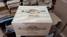 1 X 6 BOTTLE WITH LID - GENUINE FRENCH WOODEN WINE CRATE BOX CHRISTMAS GIFT