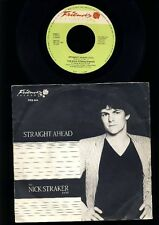 THE NICK STRAKER Bande-STRAIGHT AHEAD-contre -7 INCH VINYL SINGLE-HOLLAND