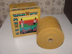 CanDo Low Powder Resistance Exercise Band GOLD XXX-Heavy 25 YD 23 M 10-5277 NEW
