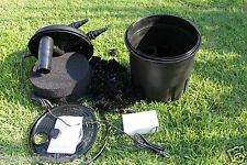 7000 gallon  UV-C BIO Pond Filter w/ 18 Watt Pond UV  Light , Bio Pond UV Filter