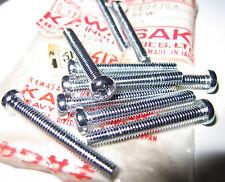 Kawasaki Turn Signal Lens Pan Head Screw 4x35 NOS 220e0435a 10 Pack